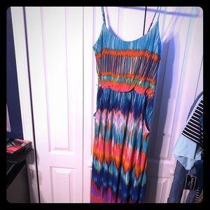 Xl gently used maxi dress
